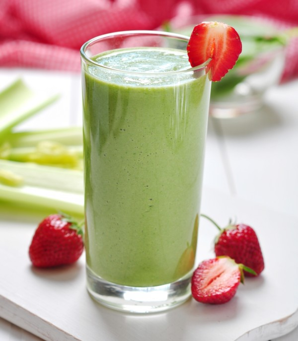 Kale Strawberry Smoothie
