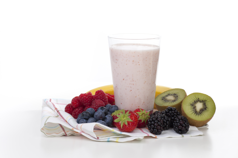 high protien berry smoothie