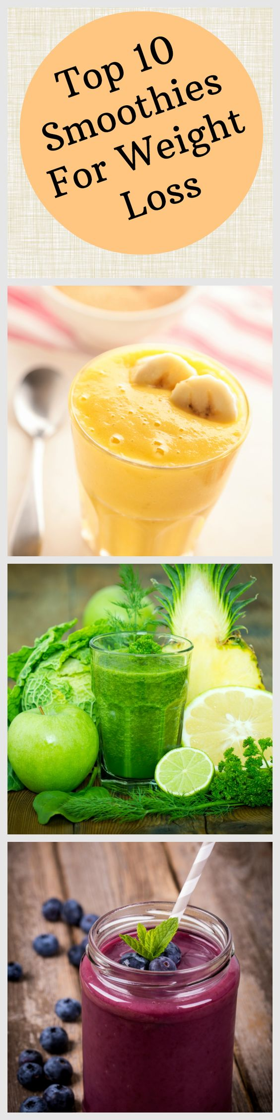 10 Awesome Smoothies for Weight Loss - All Nutribullet Recipes