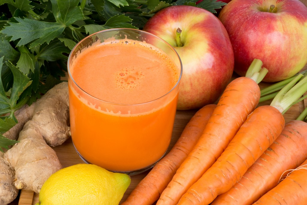 Ginger Carrot Apple Nutribullet Smoothie Recipe