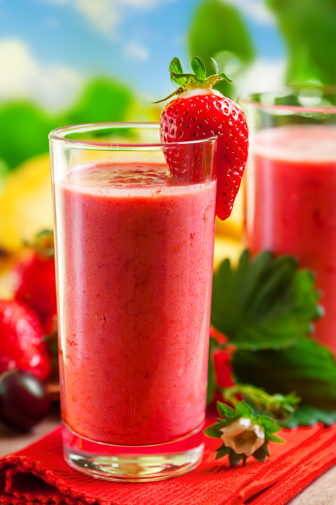 Creamy Strawberry Cashew Smoothie - All Nutribullet Recipes