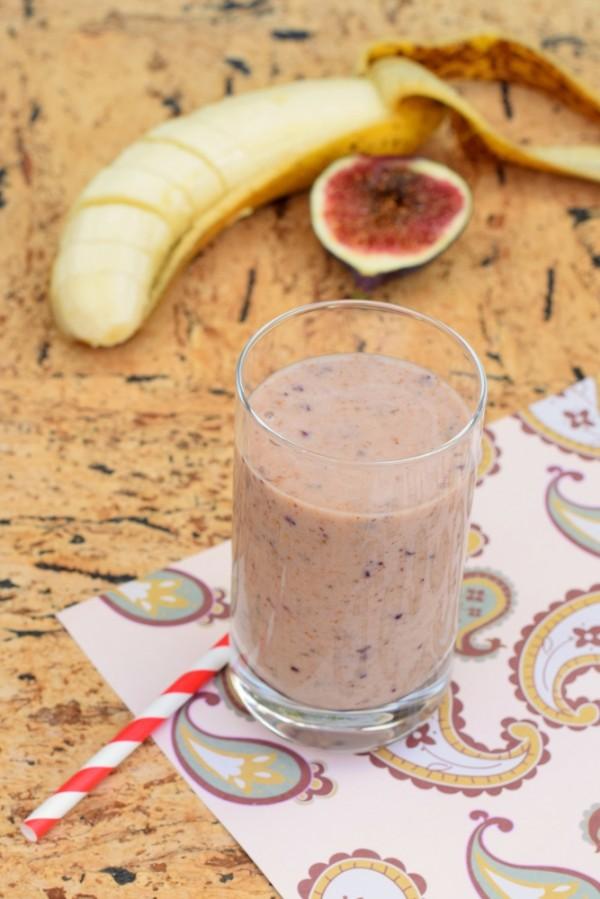banana fig smoothie recipe