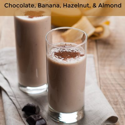 Chocolate banana protein smoothie nutribullet recipe