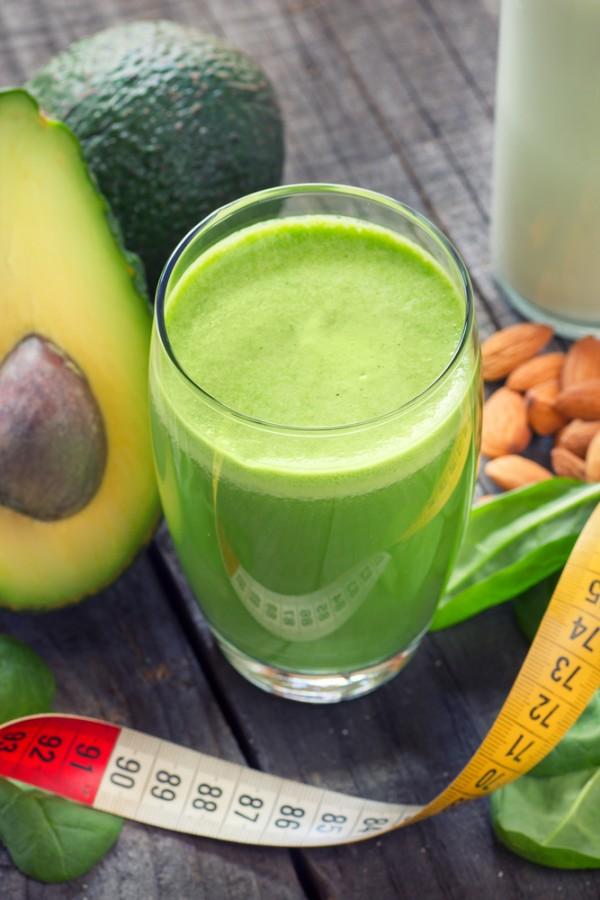 kale avocado grapefruit smoothie