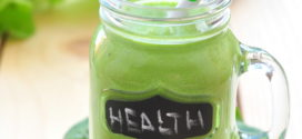 Protein Jam-Packed Spinach and Avocado Smoothie