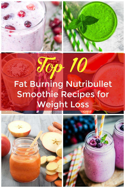 Fat Burning Nutribullet Recipes for weight loss
