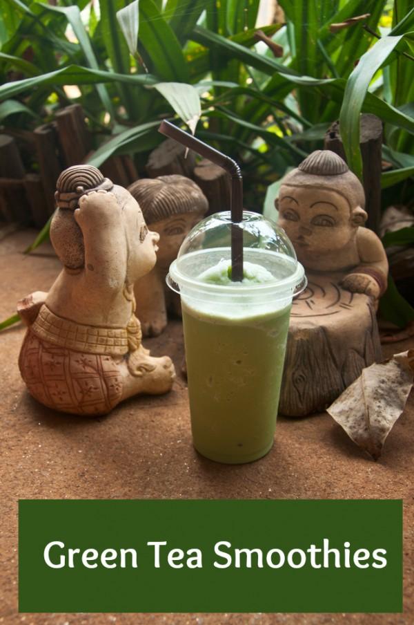 healthy green tea smoothies
