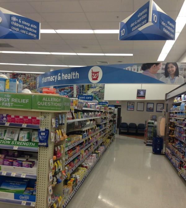 Walgreens emergen c location