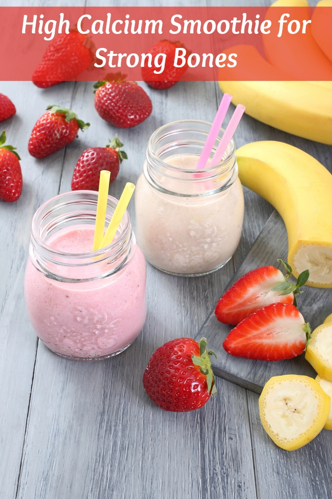 Strong Bones High Calcium Smoothie - All Nutribullet Recipes