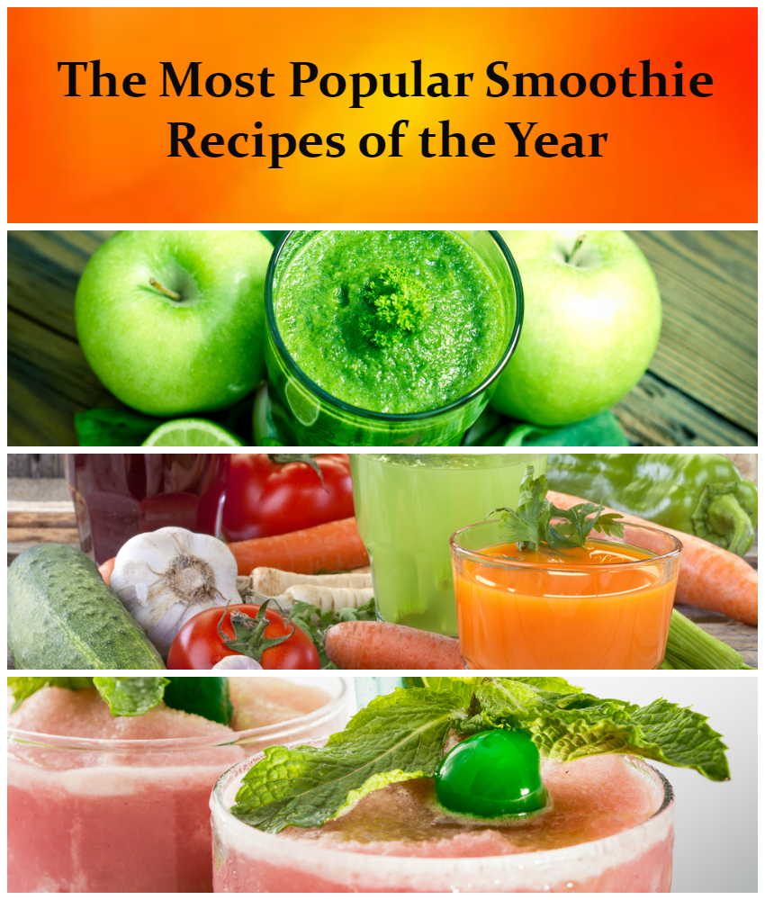 Top Ten Smoothie Recipes Of The Year
