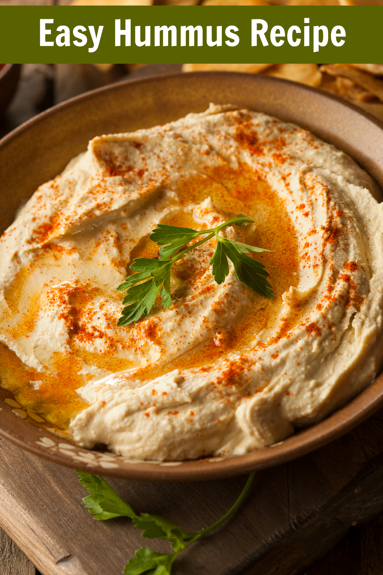 Easy Nutribullet Hummus Recipe