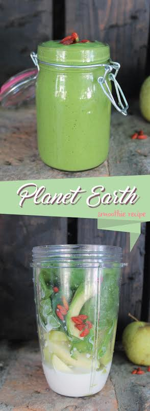 planet earth Green Smoothie recipe