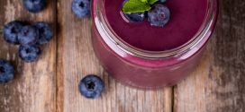 Healthy Start Blueberry Coffee Breakfast Smoothie