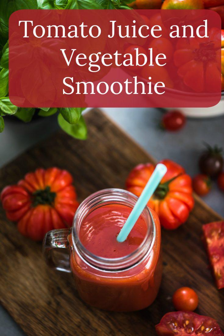 Tomato Juice Vegetable Smoothie