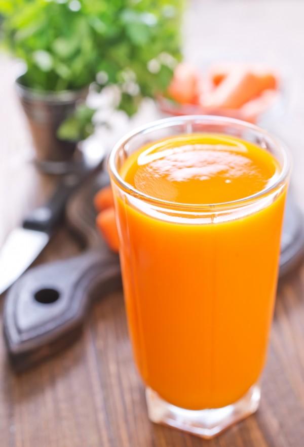 Banana, Carrot-Orange & Hemp Seeds Smoothie