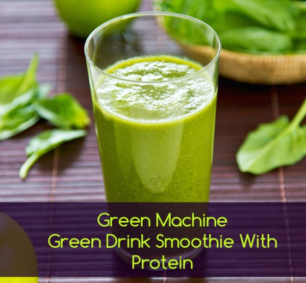 Green Protein Machine Nutribullet Blast