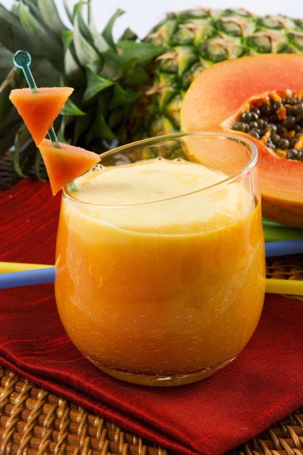 Orangey Pine-Mango Smoothie