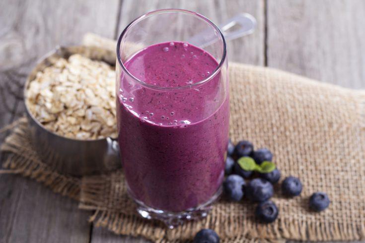Nutty High-Protein Breakfast Smoothie