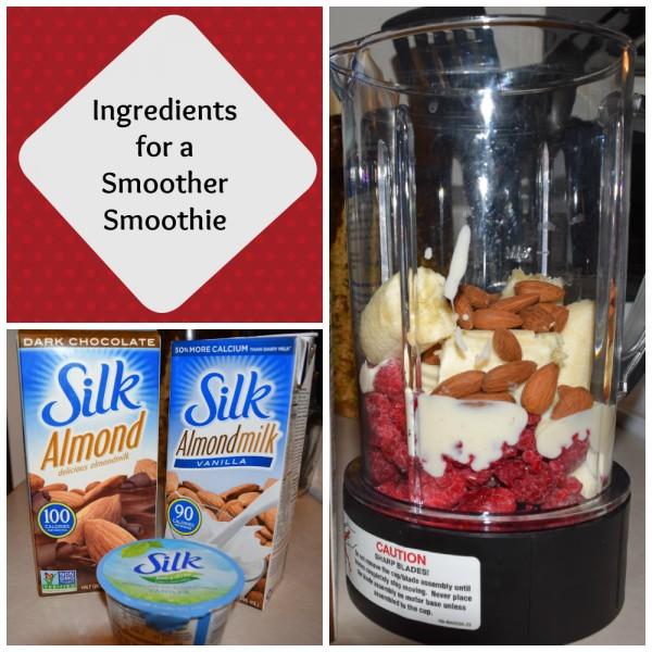Silk Chocolate Almond Raspberry Smoothie